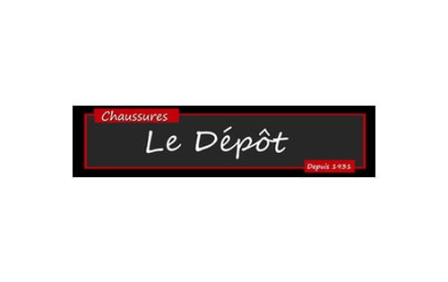 chaussure le depot logo